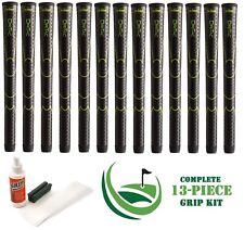 13 x Winn Golf Dri-Tac DriTac Performance Soft Black Grips 6DT-BK Midsize + KIT