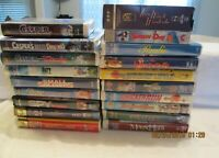 Lot of 19 VHS Tapes Kids Teens Movies Casper Spy Kids Chicken Run Space Jam