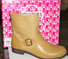 SUGAR Women's Westyn Natural Above Ankle Back Zip Boots Size 9M New in Box