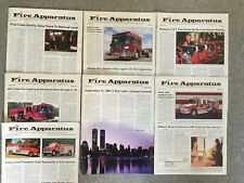 2002 Fire Apparatus Magazine Vehicle & Equipment Reference Guide, September 11