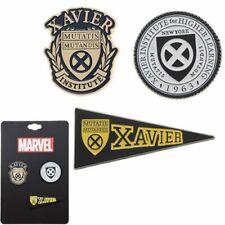 """X-MEN """"ALMA MATER"""" Lapel pin set Marvel Comics NEW"""