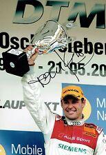 Tom KRISTENSEN SIGNED Le Mans Driver Audi AUTOGRAPH 12x8 Podium Photo AFTAL COA