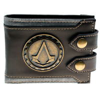 Assassins Creed Small Vintage Men Wallet High Quality Designer Short Purse