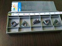 ISCAR 16EL 14W IC908 Threaded carbide inserts 5 PCS FREE SHIPPING