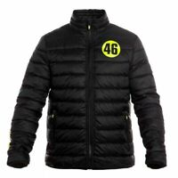 VALENTINO ROSSI VR46 QUILTED JACKET VRMJK213104 SIZE LARGE - FREE UK SHIPPING