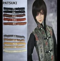 1 pcs 5*100cm Doll Wigs Straight Fringe Color Hair For 1/3 1/4 1/6 BJD SD Doll