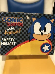 Sonic The Hedgehog Safety Helmet Rare Boxed Retro