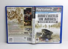 BROTHERS IN ARMS EARNED IN BLOOD - PS2 - PlayStation 2 - PAL - Italiano - Usato