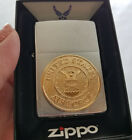 Zippo 280AF Air Force Emblem Brushed Chrome NEW in box Windproof Lighter F