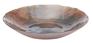 Brand New ANYA 'Tempest Shallow Platter' in Rose Metallic Dia 40 cm