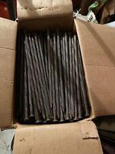 50 Lbs Box 10 Inch  Spiraled Steel Spikes