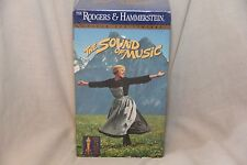 The Sound of Music, VHS, Sealed, with bonus, with Audio Cassette.