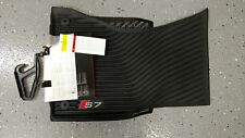 Audi S7 2013-2018 Genuine OEM All Weather Floor Mats (Pair) 4G8-061-221-A-041