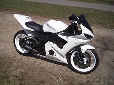 White Fairing Bodywork Kit Injection for 2003-2005 Yamaha Yzf R6 R600 YZF-R6