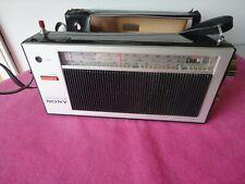 SONY TR-837 3 Band 8 Transistor Radio Vintage 60s JAPAN