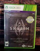 The Elder Scrolls V Skyrim - Legendary Edition - XBOX 360 Microsoft - NEW Sealed