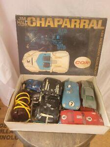 Vintage Cox 1:24 Jim Hall Chaparral Sidewinder/BARN FIND PARTS LOT