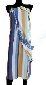 MISSONIHOME BEACH TOWEL SHAWL PAREO FRINGED COTTON NIGG 170 130x190cm