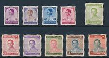 "Thailand ""KING ADULYADEJ ISSUES (10) of 1972-77"" MNH; CV $36"