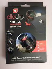 Olloclip 3 nel 1 clip-on Lens FISHEYE Zoom SISTEMA per iPhone 5 5s iPod 5th