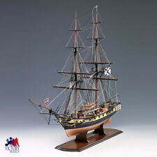 "Beautiful, Brand New Wooden Model Ship Kit by Amati: ""Mercury Russian Brig"""