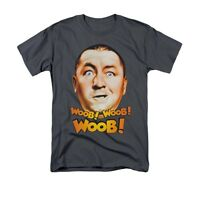 THREE STOOGES WOOB WOOB WOOB Licensed Adult Men's Graphic Tee Shirt 5XL