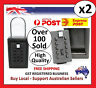 2 x SURF LOCK KEY SAFE BOX STORAGE PADLOCK COMBINATION MTB CYCLING RUNNING