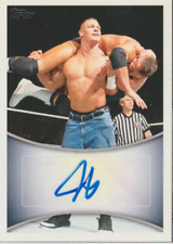 John Cena 2011 Topps WWE autograph auto card