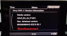 *Audi* Software und Navi Update 2021 MMI 3G HN+ A1 A4 A5 A6 A7 A8 Q3 Q5 Q7