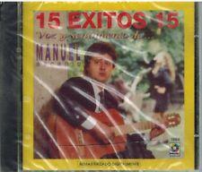 Manuel Ascanio 15 Exitos voz y sentimiento