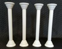 "Vintage Weddig Cale 7"" Wilton Cake Stand Pillars--Set of 4--"