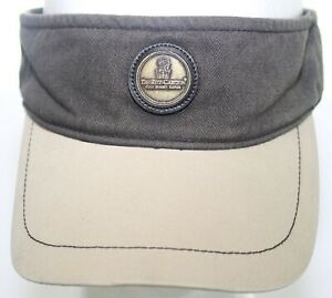 Vintage The Ritz Carlton Golf Resort Naples, Florida Visor Ahead Hat Brown Cap