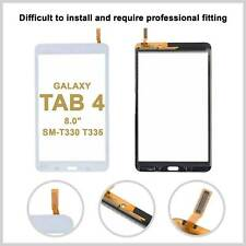 Touch Screen Digitizer Glass Lens For Samsung Galaxy Tab 4 8.0 T330 T335 - White