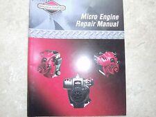 NOS Briggs and Stratton Micro Engine Repair Manual 275072