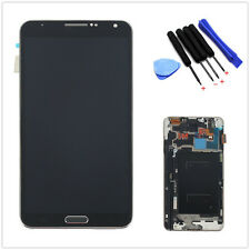 LCD Display Touch Screen Digitizer Frame Assembly for Samsung Galaxy Note3 N9005