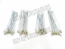 ROYAL ENFIELD FRONT & REAR WHEEL SPOKES AND NIPPLE FOR HALF WIDTH HUB @JUSTROYAL