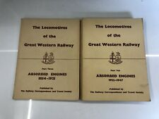 More details for the locomotives of the great western railway absorbed engines part 3 & part 10