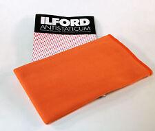 Ilford Panno antistatico pulire Pellicole diapositive Antistatic Cleaning Cloth