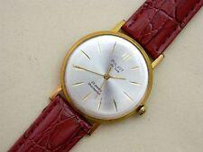 POLJOT De Luxe ULTRA THIN USSR 2209 gold plated vintage men's mechanical watch