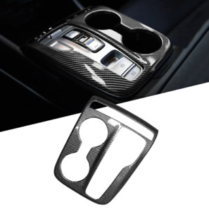 Carbon Fiber Panel Cover For Tucson NX4 2021 Central Control Gear Shift trim