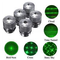 For Green Red Blue Laser Pointer 5 Style Pattern Converter Light Refraction  *