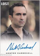 LOST ARCHIVES NESTOR CARBONELL RICHARD ALBERT AUTOGRAPH VERY LIMITED BATES MOTEL