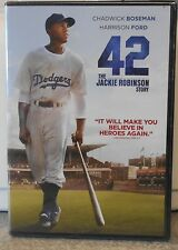 42 (DVD, 2013)   GREAT MOVIE BRAND NEW