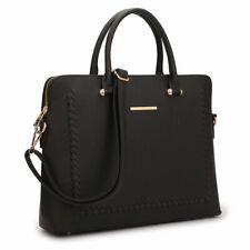 Women Chic Handbags Faux Leather Work Satchel Tote Laptop Shoulder Briefcase Bag