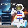 Electronic Space Astronaut Walking Dancing Smart Robot Kids Music Light Toys