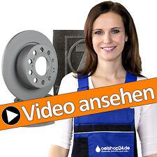 VW Golf 6/7 Zimmermann Bremsen Bremsscheiben Ø 272 mm Set Kit hinten + Beläge