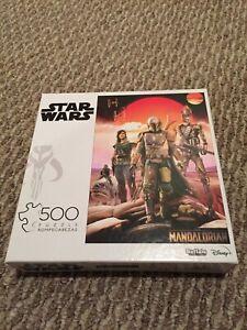 Buffalo 1000pc Jigsaw Puzzle Star Wars The Mandalorian Cara Dune IG-11 Blurgg