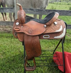 """16"""" Circle Y Equitation Western Show Saddle"""