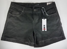NWT Buffalo dark gray Jude cotton blend casual shorts ladies juniors size 30 10