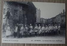 Carte postale repro Les cornards, Sauxillanges  Auvergne  , postcard